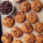 Healthy Carrot Chocolate Chip Cookies