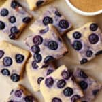 No-Bake Blueberry Chickpea Fudge