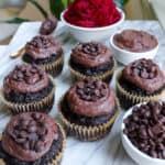 Chocolate Beetroot Muffins (Grain Free + Paleo)