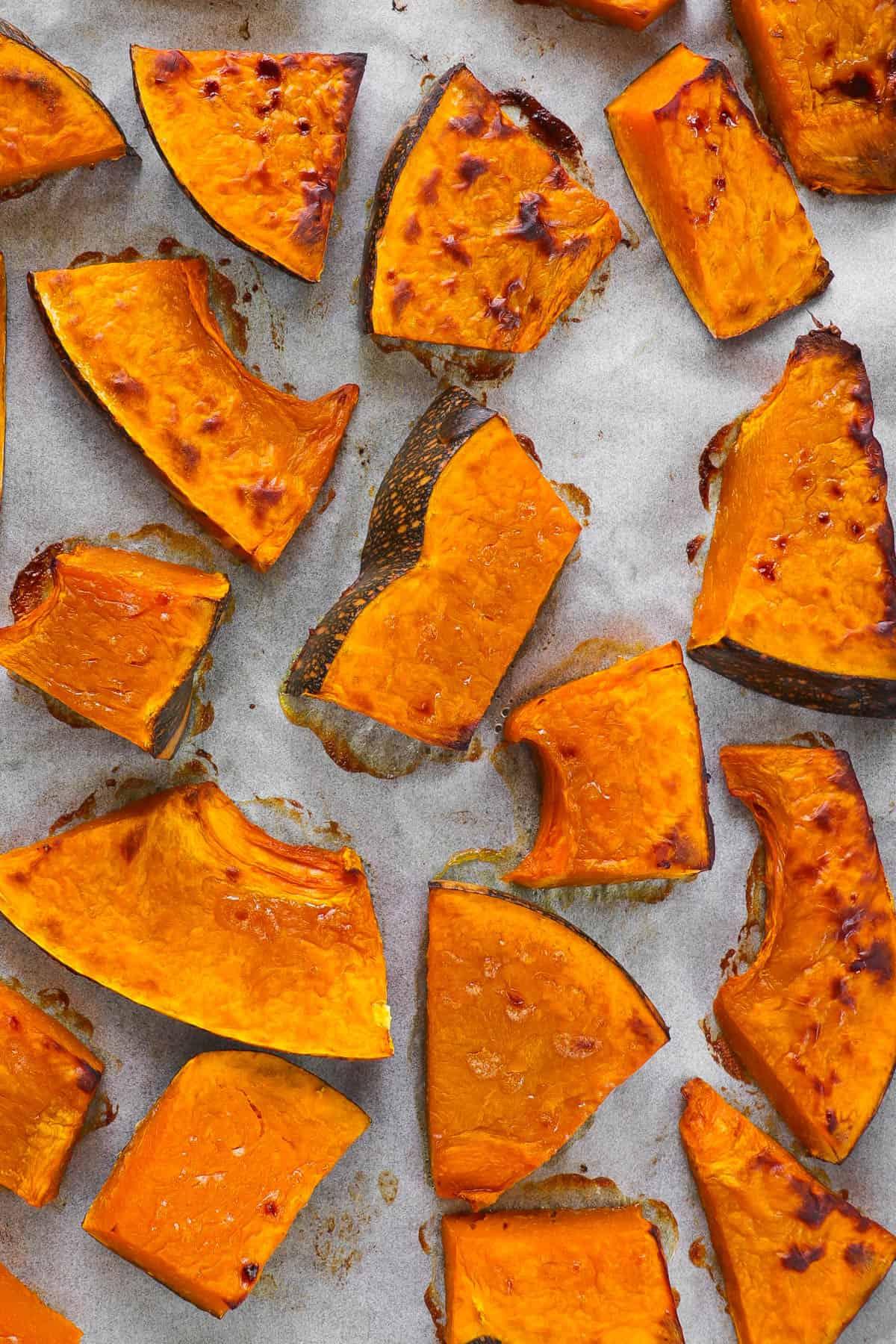 Roasted Miso pumpkin.