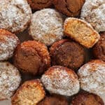 Paleo Apple Cinnamon Donut Holes