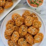 Sweet Potato Quinoa Bites (Gluten-free + Vegan)