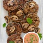 Miso Mushroom Fritters (Gluten-Free)