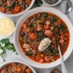 Hearty Lentil Quinoa Soup