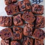 Gluten-Free Chocolate Blueberry Cake
