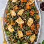 Sweet Potato Halloumi Salad