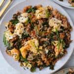 Healthy Tuna Kimchi Fried Rice